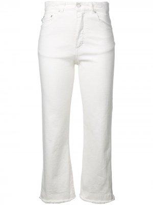 Cropped high-waist jeans Fiorucci. Цвет: белый