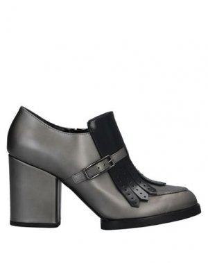 Ботинки GUIDO SGARIGLIA. Цвет: свинцово-серый