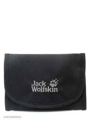 Кошелек MOBILE BANK Jack Wolfskin. Цвет: черный