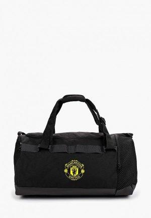 Сумка спортивная adidas MUFC DU M. Цвет: черный