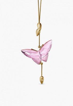 Фигурка декоративная Swarovski® Jungle Beats, покрытие золото. Цвет: разноцветный