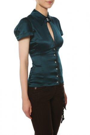 Блуза Paola Frani. Цвет: зеленый