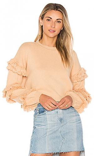 Пуловер bergen Tularosa. Цвет: nude
