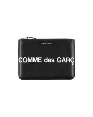 Косметичка COMME des GARÇONS. Цвет: черный
