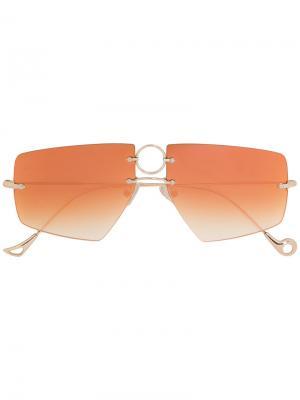 Солнцезащитные очки David Eyepetizer. Цвет: металлический