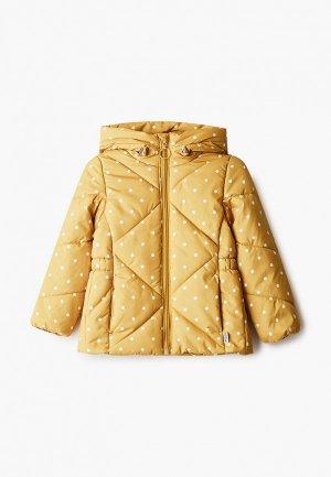 Куртка утепленная Boom. Цвет: желтый