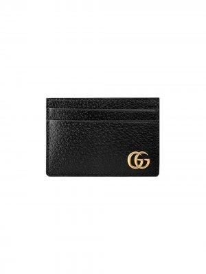 Зажим для денег GG Marmont Gucci. Цвет: черный