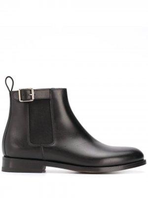 Ботинки челси с пряжками Scarosso. Цвет: черный