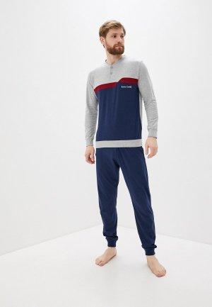 Пижама Enrico Coveri. Цвет: разноцветный