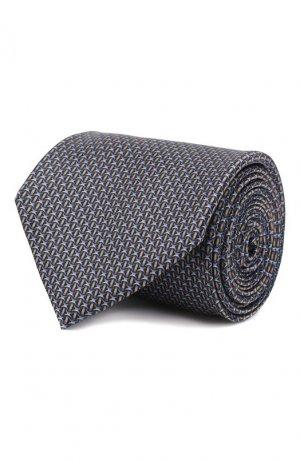 Комплект из галстука и платка Brioni. Цвет: сиреневый