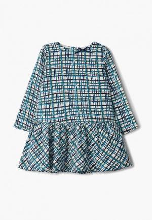 Платье Chicco. Цвет: бирюзовый