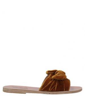 Сандалии ANCIENT GREEK SANDALS. Цвет: верблюжий