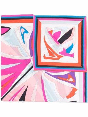 Платок Lance с принтом Emilio Pucci Junior. Цвет: розовый