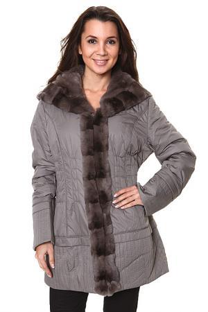 Пальто Basic Editions. Цвет: коричневый