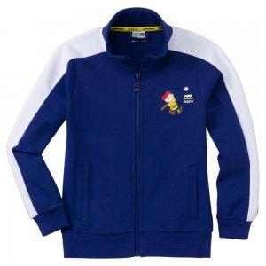 X Peanuts T7 Track Jacket PUMA. Цвет: синий