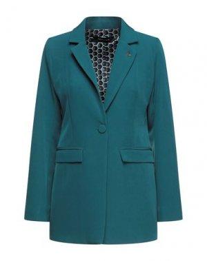 Пиджак EMMA & GAIA. Цвет: цвет морской волны