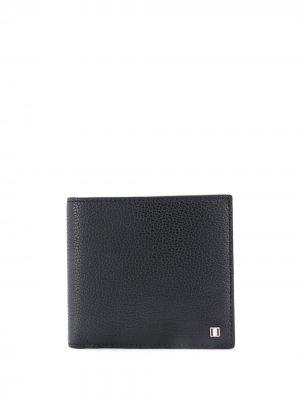 Бумажник с логотипом Bally. Цвет: черный