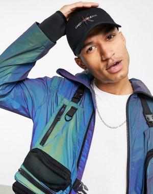 Черная кепка с текстовым логотипом Pride-Черный цвет Calvin Klein Jeans