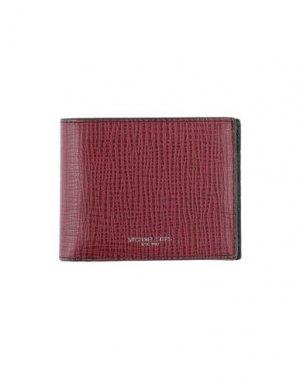 Бумажник MICHAEL KORS. Цвет: красно-коричневый