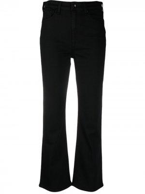 Укороченные джинсы Rag & Bone. Цвет: черный