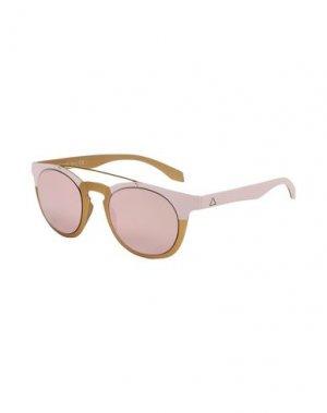 Солнечные очки ALSTECA. Цвет: светло-розовый