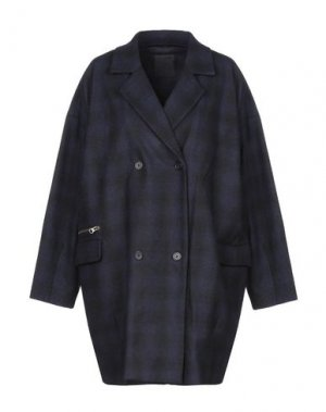 Легкое пальто JUST FEMALE. Цвет: темно-синий