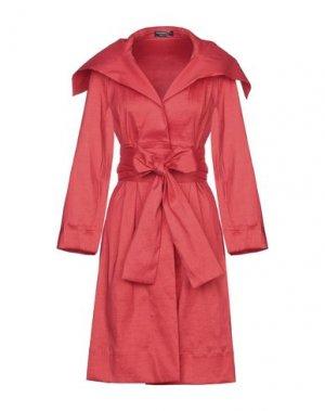 Легкое пальто ALESSANDRO LEGORA. Цвет: красный