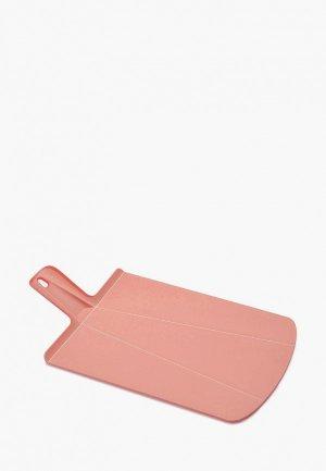 Доска разделочная Joseph Chop2Pot Plus. Цвет: розовый