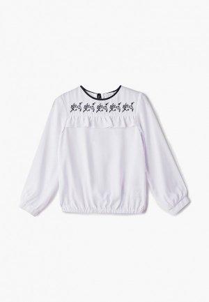 Блуза Sly. Цвет: белый