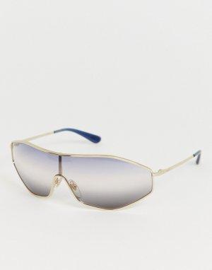 Солнцезащитные очки Eyewear x Gigi Hadid 0VO4137S-Серебряный Vogue