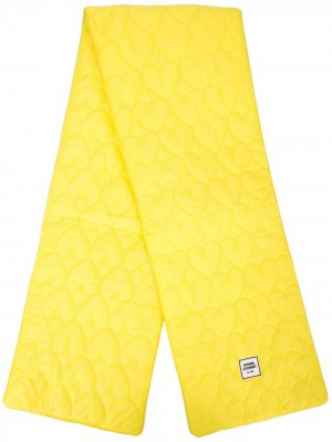 Стеганый шарф Opening Ceremony. Цвет: желтый