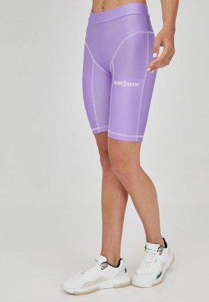 Шорты спортивные Eniland. Цвет: фиолетовый