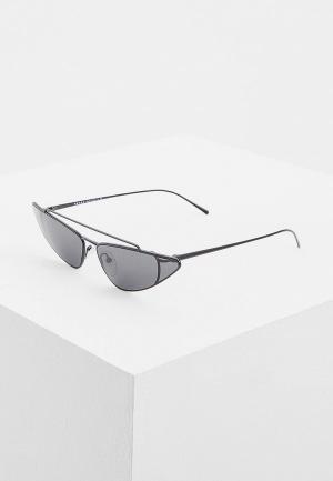 Очки солнцезащитные Prada PR 63US 1AB5S0. Цвет: черный