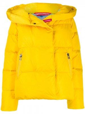 Куртка Ginevra Freedomday. Цвет: желтый