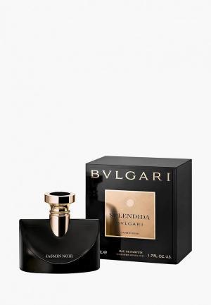 Парфюмерная вода Bvlgari Splendida Jasmin Noir 50 мл. Цвет: прозрачный