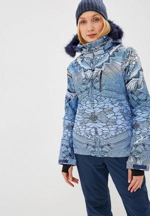 Куртка горнолыжная Roxy JETSKI PREMIUM. Цвет: синий