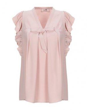 Блузка LAB ANNA RACHELE. Цвет: светло-розовый