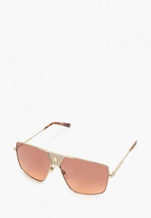 Очки солнцезащитные Givenchy GV 7162/S S9E. Цвет: золотой