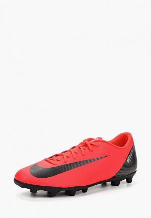 Бутсы Nike CR7 Vapor 12 Club (MG) Mens Multi-Ground Football Boot. Цвет: розовый