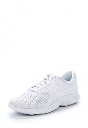 Кроссовки Nike WOMENS REVOLUTION 4 RUNNING SHOE (EU). Цвет: белый