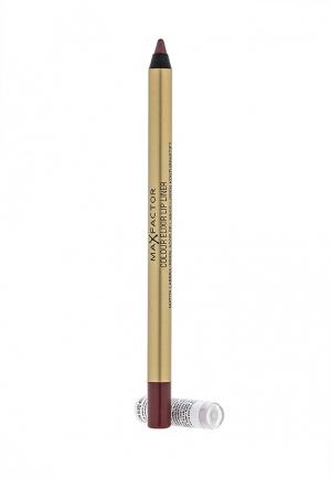 Карандаш для губ Max Factor Colour Elixir Lip Liner, 6 Mauve Moment, 1,2 гр. Цвет: коричневый