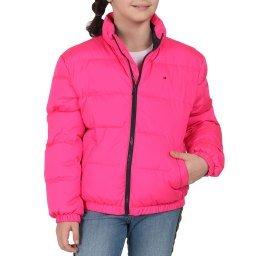 Куртка KG0KG04983 розовый TOMMY HILFIGER