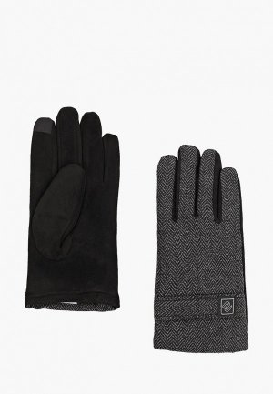 Перчатки Zolla. Цвет: серый