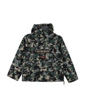 Куртка NAPAPIJRI. Цвет: зеленый-милитари