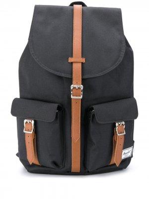 Рюкзак с пряжками Herschel Supply Co.. Цвет: черный