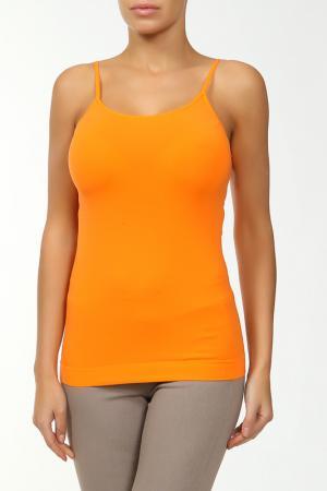 Майка Карако Mademoiselle. Цвет: оранжевый