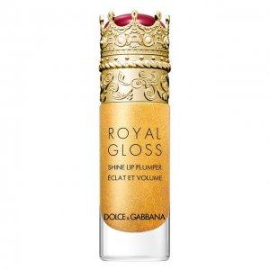 Блеск для губ с эффектом объема Royal Gloss, Secret Gold Dolce & Gabbana. Цвет: бесцветный