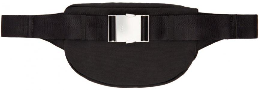 Black Embroidered Tiger Bum Bag Kenzo. Цвет: 99 black