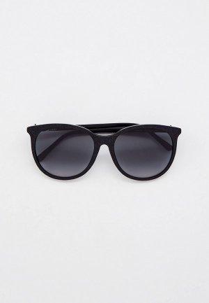 Очки солнцезащитные Jimmy Choo ILANA/F/SK DXF. Цвет: черный