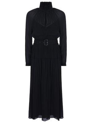 Платье шелковое LAROOM